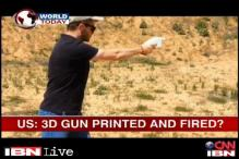 US: World's first 3D-printed gun fires real bullets