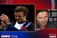 Emotional farewell for David Beckham