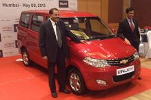 Chevrolet launches Enjoy MPV in India at Rs 5.49 lakh onwards