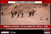 Chinese troops reinforce position in DBO