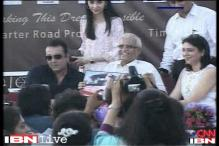 Actor Sanjay Dutt makes a rare appearance in support of an NGO