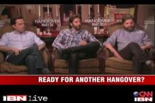 Cooper, Helms and Galifianakis return in Hangover III