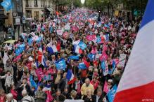 France: Thousands protest against gay marriage law