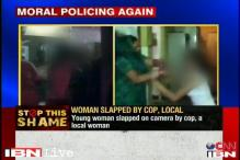 Ghaziabad: Policeman, woman caught on camera slapping a young girl