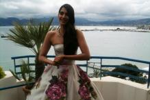 Snapshot: Sonam flaunts a voluminous gown at Cannes