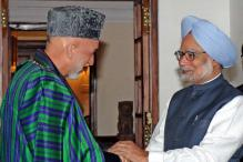 Karzai gives wishlist to PM for military supplies