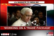 Working on a trade package with China: Salman Khurshid