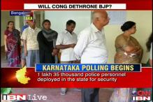 Karnataka votes today, Congress hopes to breach BJP's citadel