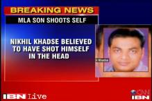 Maharashtra: BJP MLA's son who shot himself dies