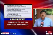 Odisha: Police raid over 80 financial institutes, Rs 10 crore frozen