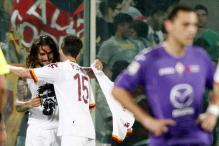Fiorentina lose 1-0 to Roma in Serie A