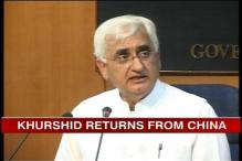 India, China working on new border agreement: Khurshid