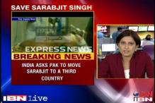 Move Sarabjit to a 3rd country: India to Pak