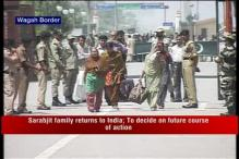 Sarabjit Singh's family returns to India from Pakistan