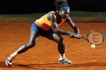 Serena takes Venus' revenge against Robson in Rome
