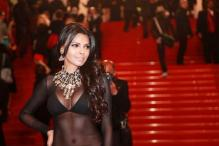 Good god! What's Sherlyn Chopra wearing on the Cannes red carpet?