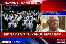 Proper respect should be shown to the national song: Somnath Chatterjee