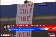 Tibetans protest against Li Keqiang's visit to India