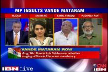 Should the MP who walked away during Vande Mataram apologise?