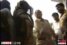 UP: Female police officer caught on camera slapping 3 women