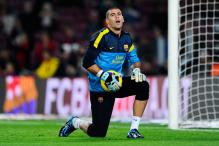 Valdes, Abidal to miss Athletico clash
