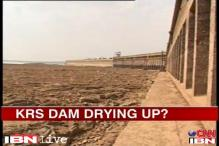 Bangalore faces an acute water shortage with the KRS Dam drying up
