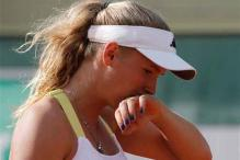 Wozniacki exits in 2nd round of French Open