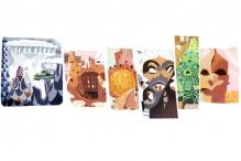 Antoni Gaudi: Google doodles the Spanish architect's 161st birthday