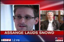 Julian Assange praises whistleblower Edward Snowden, says he is a hero