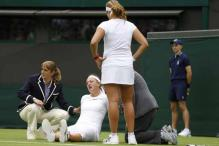 Wimbledon courts under scrutiny after injury 'black day'