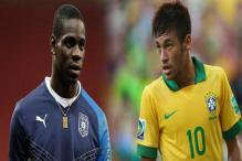 Neymar and Balotelli face off in Confed Cup