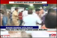 Bihar bandh hits normal life; BJP, JD(U) workers clash in many places