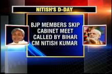 BJP ministers skip Cabinet meet called by Nitish Kumar