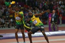 Bolt and Blake share wild cards for world c'ships