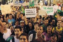 Brazilian President salutes protests as more and more people take to the streets