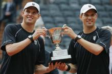 Bryan brothers end 10-year wait to repeat French Open magic