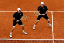 Bryan brothers win doubles title at French Open