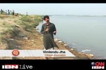 CJ Vimlendu draws attention to pollution in Yamuna