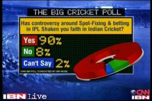 Indian cricket fans disillusioned by IPL spot-fixing, BCCI controversy: Poll