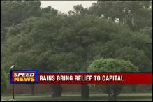 Rains lash Delhi, give respite from scorching heat