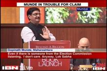 EC can disqualify Munde for spending Rs 8 crore on 2009 LS campaign