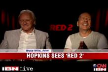 Red 2: Hollywood actor Bruce Willis returns as Frank Moses