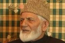 Policy on Kashmir forcing youth to take up arms: Geelani