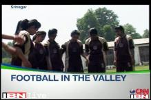 All girls football team in Jammu and Kashmir