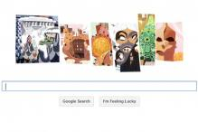 Google doodles Antoni Gaudi's 161st birthday