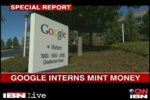 Interns at Google mint more money than employees