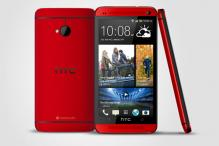 HTC One launched in 'Glamour Red' colour
