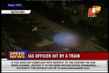 Odisha: IAS officer hit by train, suicide suspected