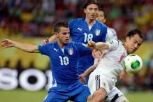 Italy overhaul Japan to reach Confederation Cup semis