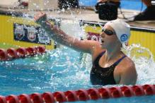 Ledecky breaks Evans' 1500 freestyle record at US Nationals